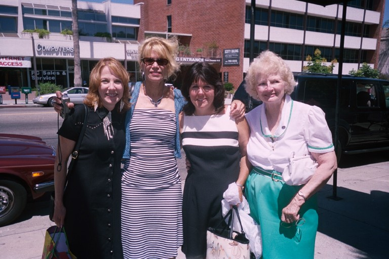 Alicia, Alinda, Patty, and Betty