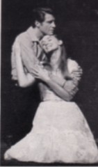 Robert and Inga in the duet 'Is it Really Me?'