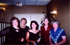 Marcella, Alinda, Patty, Cindy, Virginia