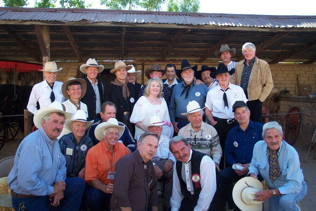 Most of the stars at the 2002 Tombstone Festival